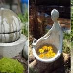 Изготовление декоративного фонтана. Обзор основных стадий