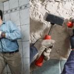 Как заменить кафельную плитку на стене (часть 1)