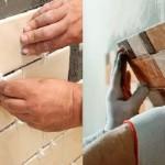 Как заменить кафельную плитку на стене (часть 3)