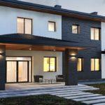 Вентилируемые фасады для коттеджей