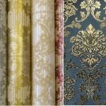 Три типа обоев-флокированные-травяные-фольга-особенности (часть 2)