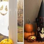 Украшение стола и украшения для дома на хэллоуин
